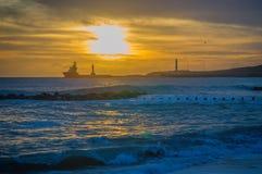 Aberdeen plaża Fotografia Stock
