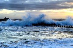 Aberdeen plaża Zdjęcia Royalty Free