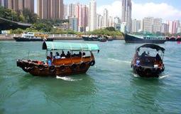 aberdeen porslin Hong Kong Arkivbilder