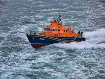 Free Aberdeen RNLI Lifeboat At Sea, Travelling At Speed Stock Photos - 159644723