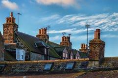 Aberdeen Rooftops Stock Photography