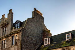 Aberdeen Rooftops stock photo