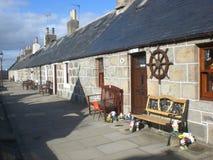 Aberdeen Rowhouse Fotos de archivo libres de regalías