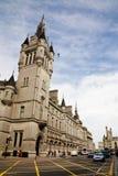 aberdeen scotland gataunion Royaltyfri Bild