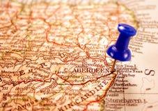 Aberdeen, Scozia fotografia stock libera da diritti