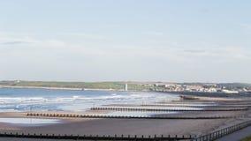 Aberdeen seashore Arkivfoto