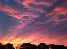 Aberdeen soluppgång Arkivbild