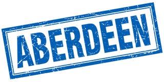 Aberdeen stamp. Aberdeen square grunge stamp. Aberdeen sign. Aberdeen vector illustration