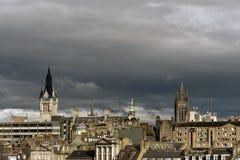 Aberdeen stadsarkitektur Royaltyfri Fotografi