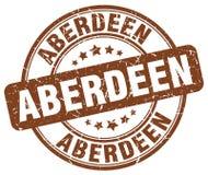 Aberdeen stamp. Aberdeen round grunge stamp isolated on white background. Aberdeen stock illustration