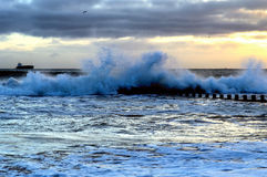 Aberdeen strand Royaltyfria Foton