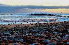 Aberdeen strand Arkivbilder