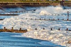 Aberdeen strand Arkivbild