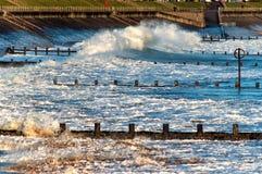 Aberdeen strand Arkivfoton