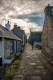 Aberdeen stugor Fotografering för Bildbyråer