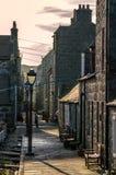 Aberdeen stugor Royaltyfri Fotografi