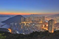 Aberdeen tyfonskydd, Hong Kong Royaltyfri Fotografi