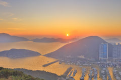 Aberdeen tyfonskydd, Hong Kong Arkivbilder