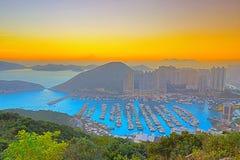 Aberdeen tyfonskydd, Hong Kong Royaltyfria Foton