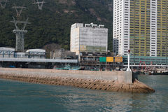 Aberdeen tyfonskydd Hong Kong Royaltyfri Foto