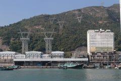 Aberdeen tyfonskydd Hong Kong Fotografering för Bildbyråer