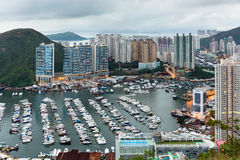Aberdeen typhoon shelter Royalty Free Stock Photography