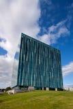 Aberdeen Uniwersytecki Sir Duncan Rice Biblioteka, Aberdeenshire, Szkocja zdjęcia royalty free