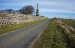Aberdeenshire Skottland för hjortar för Culsh monument ny Royaltyfri Bild