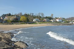 Aberdour Beach Stock Photography