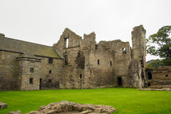Aberdour Castle and Gardens, Fife Royalty Free Stock Photography