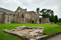 Aberdour Castle and Gardens, Fife Royalty Free Stock Images