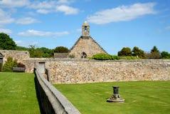 Aberdour Castle Stock Image