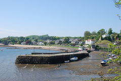 Aberdour Harbour Royalty Free Stock Images