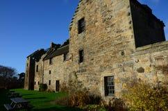 Aberdour slott Fotografering för Bildbyråer