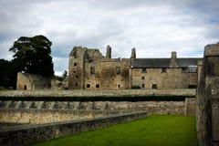 Aberdour slott Royaltyfria Foton