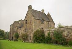 Aberdour slott och trädgårdar, Fife Royaltyfria Foton