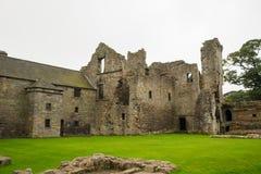 Aberdour slott och trädgårdar, Fife Royaltyfri Fotografi