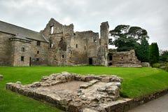 Aberdour slott och trädgårdar, pickolaflöjt Royaltyfria Bilder