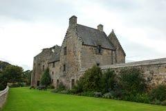 Aberdour slott och trädgårdar, pickolaflöjt Arkivfoto