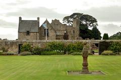 Aberdour slott och trädgårdar, pickolaflöjt Royaltyfria Foton