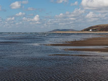 Aberdovey Beach and Sea Stock Images