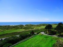 Aberdovey, opinión de País de Gales, mar Fotos de archivo