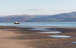 Aberdovey strand och hav Fotografering för Bildbyråer