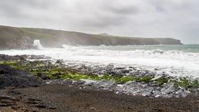 Abereiddy Pembrokeshire Wales Fotografering för Bildbyråer