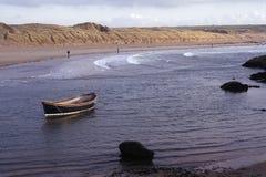 aberffraw łódź Obrazy Royalty Free