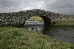 Aberffraw bridge Stock Photography