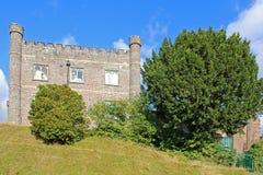 Abergavenney Castle Stock Photo