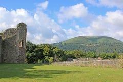 Abergavenny Castle Royalty Free Stock Images
