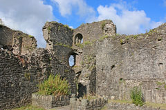 Abergavenny Castle, Wales Stock Photos