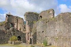 Abergavenny slott, Wales Royaltyfri Foto